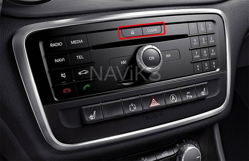 2015 - 2019 Mercedes-Benz CLA-Class (C117) HDMI Video Interface