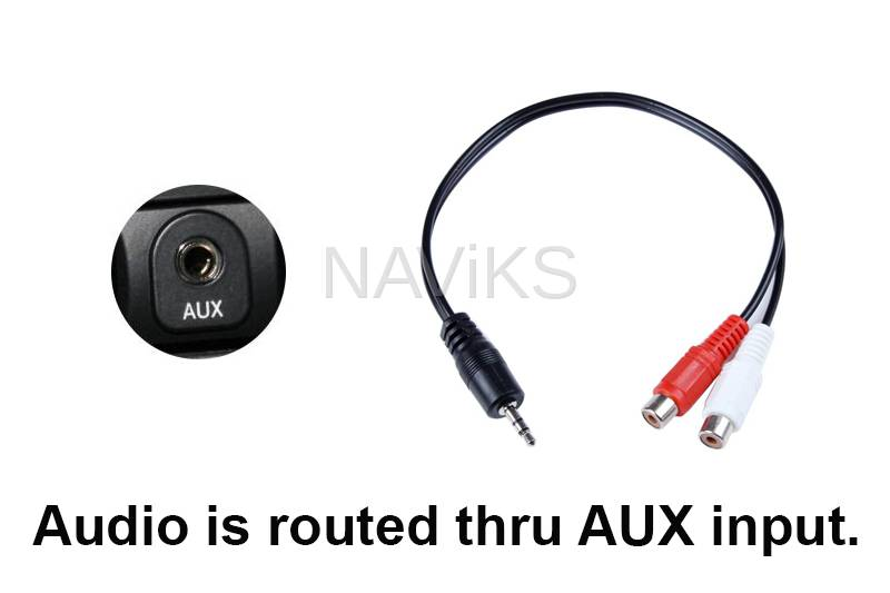 Acura TL Navigation Video Interface - Acura tl 2004 aux input