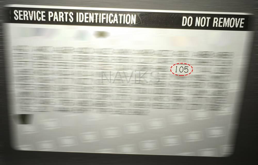2015 - 2020 Chevrolet Suburban MyLink (RPO Code IO5 or IO6