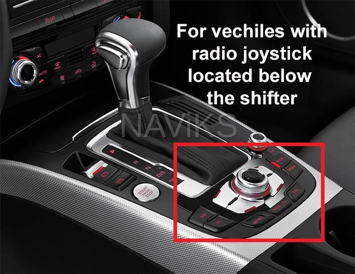 2009 - 2016 Audi A5 (8T) (MMi 3G) Apple CarPlay / Android