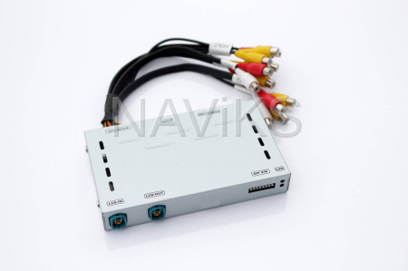 Audi - 2010 - 2015 Audi Q7 (4L) (MMi) Rear & Front Camera Interface with Dynamic Parking Guide Lines (DPGL)