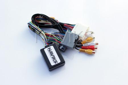 Chrysler - 2010 - 2014 Chrysler 200 MyGIG Video in Motion + Rear & Front Camera Interface