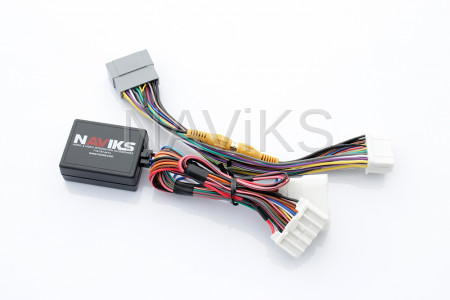 """Dodge - 2011 - 2019 Dodge Journey Uconnect 8.4"""" (RE2) (RB5)Video In Motion Lockout Bypass + Rear Camera Interface"""