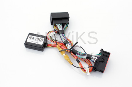 """Dodge - 2014 - 2017 Dodge Durango Uconnect 5"""" (RA2) or 8.4"""" (RA3) (RA4)Nav In Motion Lockout Bypass + Trailer Camera Interface"""