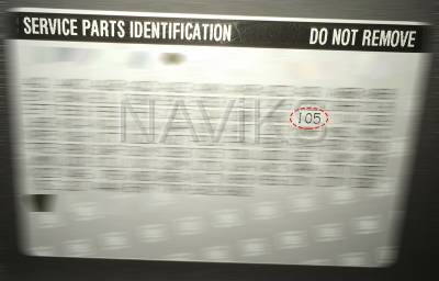 PO - Service Parts Information - IO5