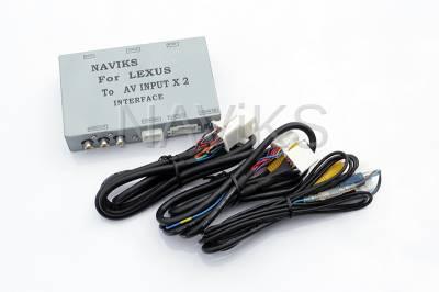 Video & Camera Interface - Lexus - 2007 - 2009 Lexus ES (XV40) Video Integration Interface
