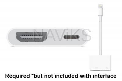 Apple AV Digital Adapter #MD826