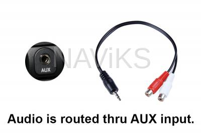 Acura - 2010 - 2013 Acura MDX Apple CarPlay (Wired & Wireless) / Android Auto (Wired Only) + USB Media Player - Image 3