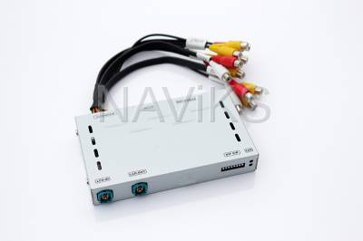 2006 - 2013 Audi A3 RNS-E Video Interface (Piano Black Finish ONLY) (Must Send Screen)