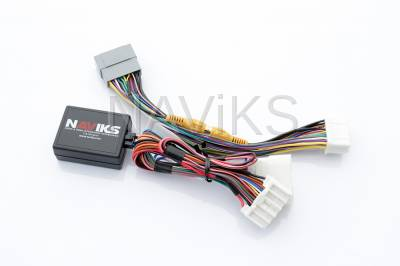 """Front Camera Interface - Dodge - 2011 - 2014 Dodge Charger Uconnect 8.4"""" (RE2) (RB5) Video In Motion Lockout Bypass + Video Interface + Front & Rear Camera Interface"""
