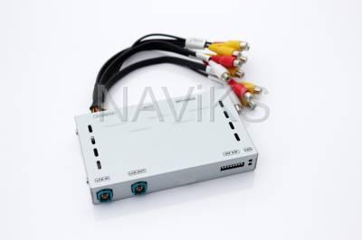 Rear Camera Interface - BMW - 2018 - 2020 BMW X1 (F48) NBT EVO (iD5 or iD6)Apple CarPlay (Wired & Wireless) + Android Auto (Wired Only)+ Front & Rear View Camera Interface