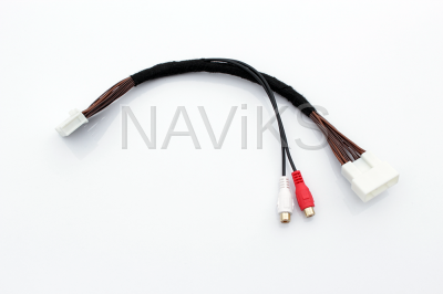 2019 - 2020 Toyota RAV4 (Entune 3) AUX Audio Input Interface