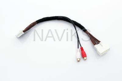 2020 - 2021 Toyota Tacoma (Entune 3) AUX Audio Input Interface